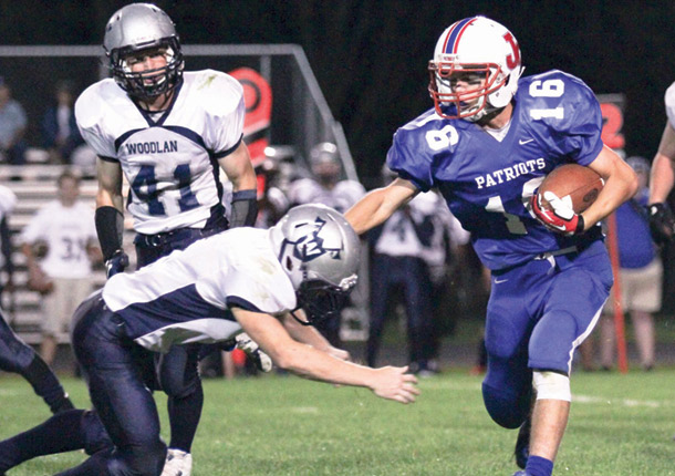 Patriots fall to Woodlan