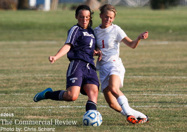 Girls soccer ties with Norwell