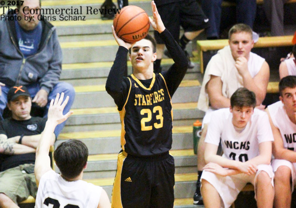 Falcons shoot past Starfires